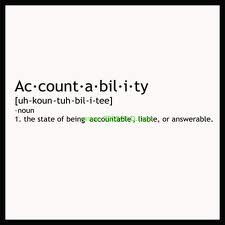 Accountability 0 Accountability in Business