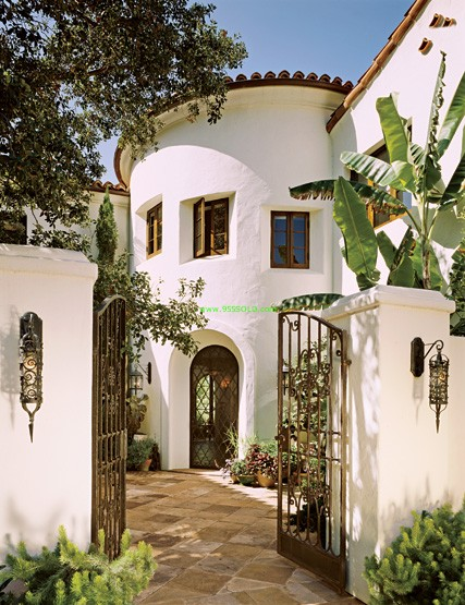 Spanish style homes for Mediterranean style architecture characteristics