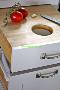cutting board hole 200x300 Kitchen Cutting Board