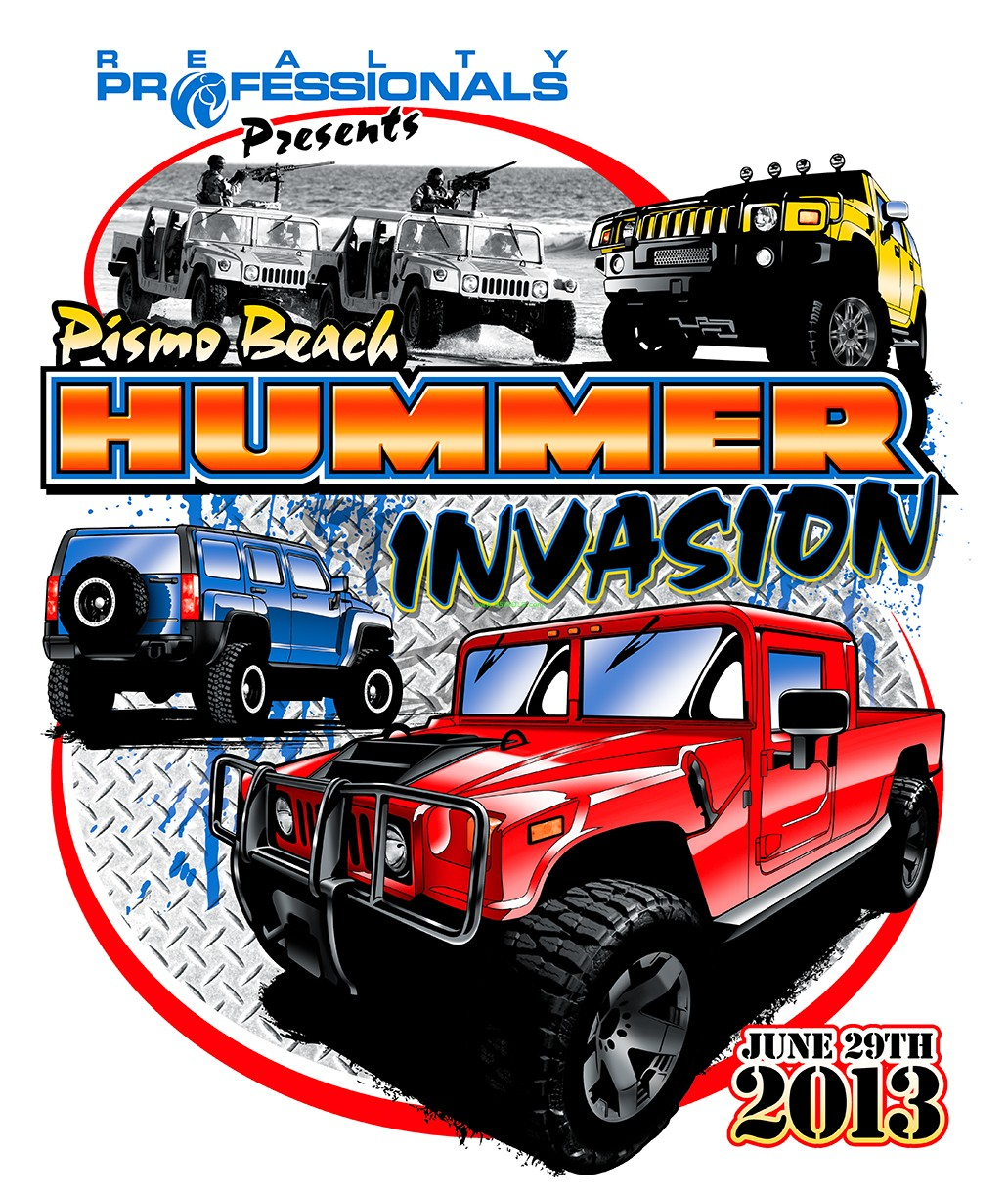 Thumbnail image for Pismo Beach Hummer Invasion