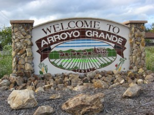 Arroyo Grande Welcome 300x225 Arroyo Grande Statistics Jan   Jun 2013
