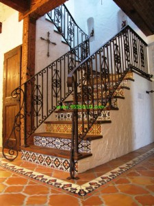 Saltill Stairs 3 225x300 Saltillo Tiles or Pavers