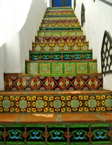 Saltill Stairs 6 231x300 Saltillo Tiles or Pavers