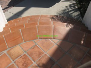 Saltill Stairs 7 300x225 Saltillo Tiles or Pavers