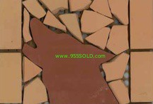 Saltillo Design 5 Saltillo Tiles or Pavers