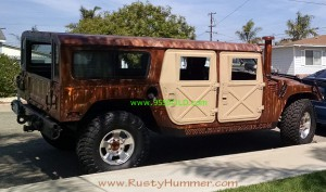 Hummer Wagon X doors tan a 300x177 First Rat Rod HUMMER H1