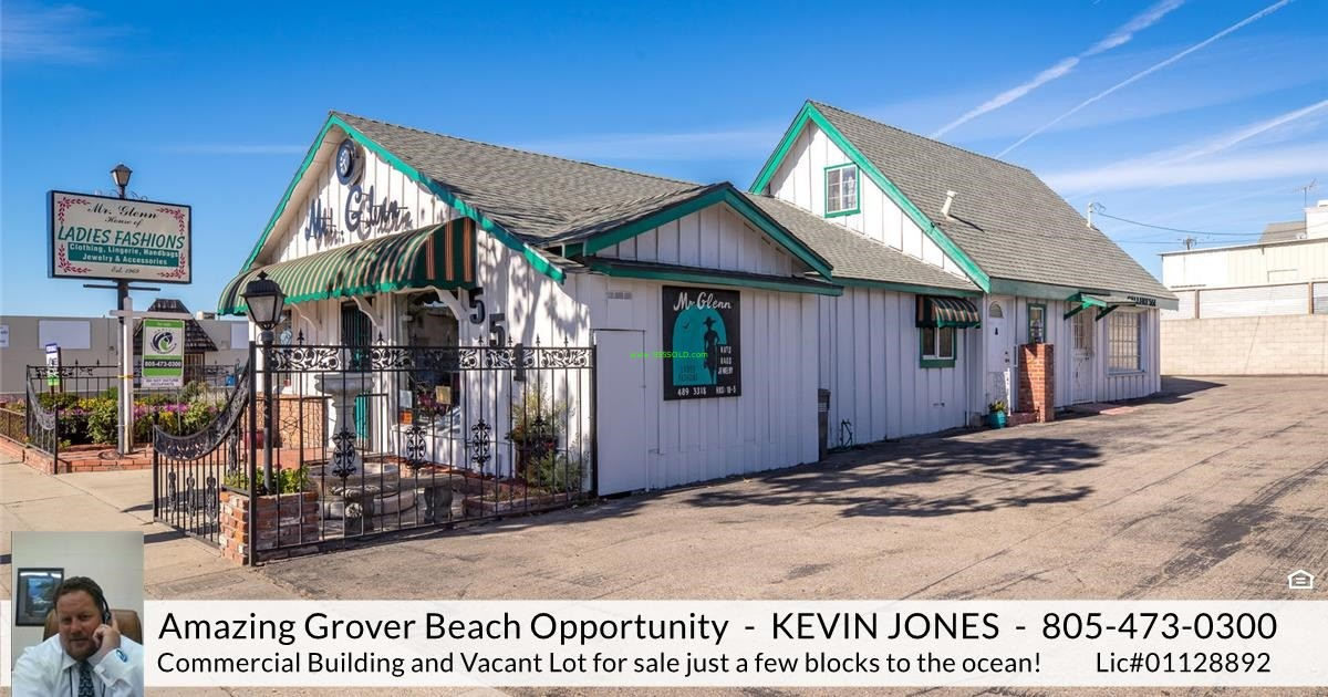 Thumbnail image for Grover Beach Commercial Building For Sale