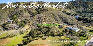 new on the market horizontal 300x150 Paradise Valley Lot in Atascadero, Ca
