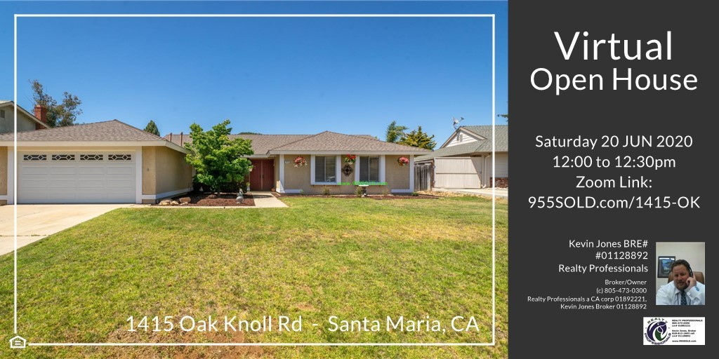 Thumbnail image for 1415 Oak Knoll – Orcutt – Open House